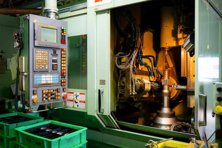 numerical control machining